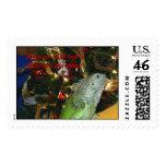 Iguana Wish You A Merry Christmas, Iguana wish ... Postage
