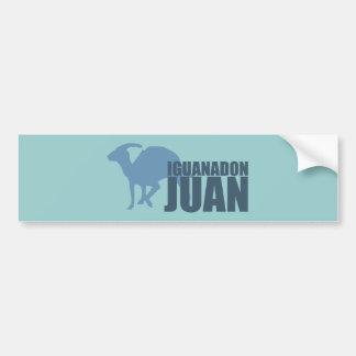Iguanadon Juan Bumper Sticker