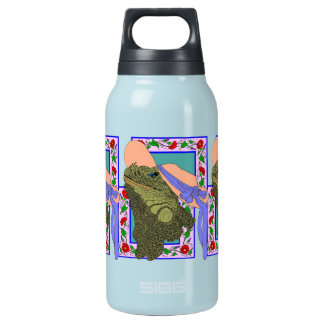 Iguanadonna, The Original Iguana Mama Insulated Water Bottle