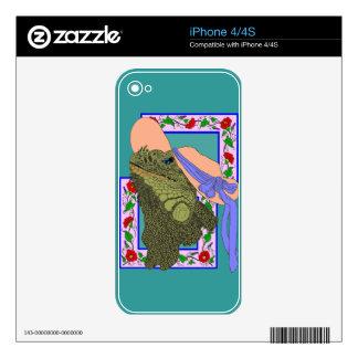 Iguanadonna, The Original Iguana Mama Skin For The iPhone 4S