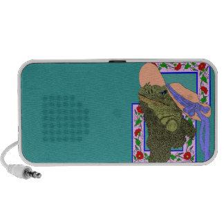 Iguanadonna, The Original Iguana Mama iPhone Speaker