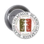 Iguanas de las islas de las Islas Galápagos Pin