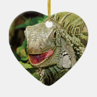 Iguanas hanging gift ornaments