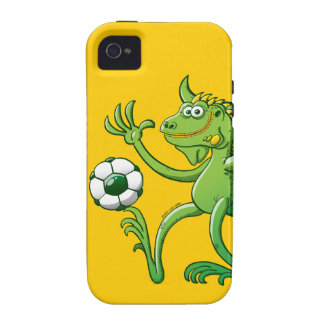 Iguanas like to Play Soccer iPhone 4 Covers