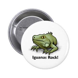 Iguanas Rock! Pins