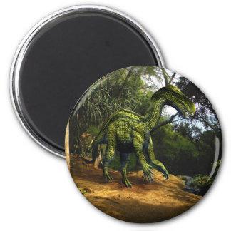 Iguanodon Dinosaur 2 Inch Round Magnet