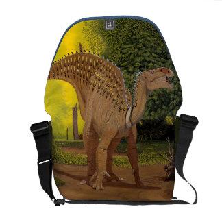 Iguanodon Dinosaur Messenger Bag Greg Paul
