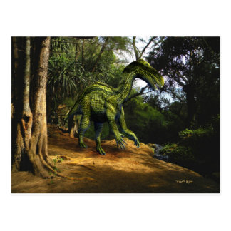 Iguanodon Dinosaur Post Card