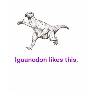 Iguanodon Likes This shirt