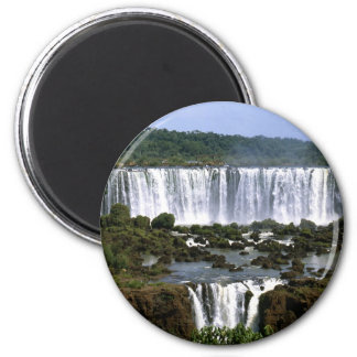 Iguassu Falls 2 Inch Round Magnet