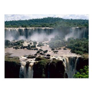 Iguassu Falls, Brazil Postcard