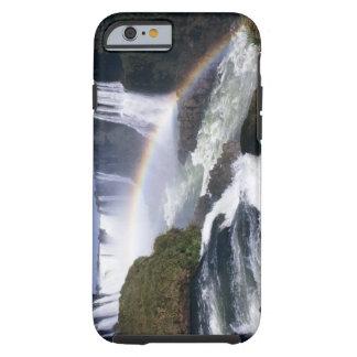 Iguassu Falls, Parana State, Brazil. Aerial view Tough iPhone 6 Case