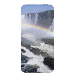 Iguassu Falls, Parana State, Brazil. Aerial view iPhone 5 Pouch