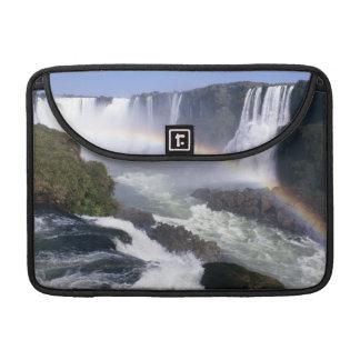 Iguassu Falls, Parana State, Brazil. Aerial view MacBook Pro Sleeve