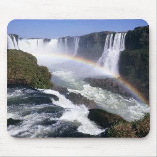 Iguassu Falls, Parana State, Brazil. Aerial view Mouse Pad
