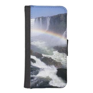 Iguassu Falls, Parana State, Brazil. Aerial view iPhone 5 Wallet