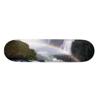Iguassu Falls, Parana State, Brazil. Aerial view Skateboard Deck