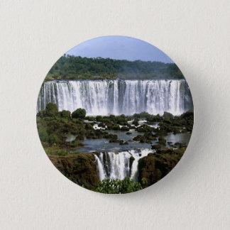 Iguassu Falls Pinback Button