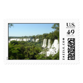 iguassu falls postage stamps
