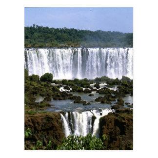 Iguassu Falls Postcard