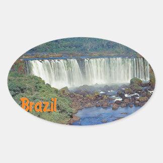 Iguasu Falls  Brazil Stickers