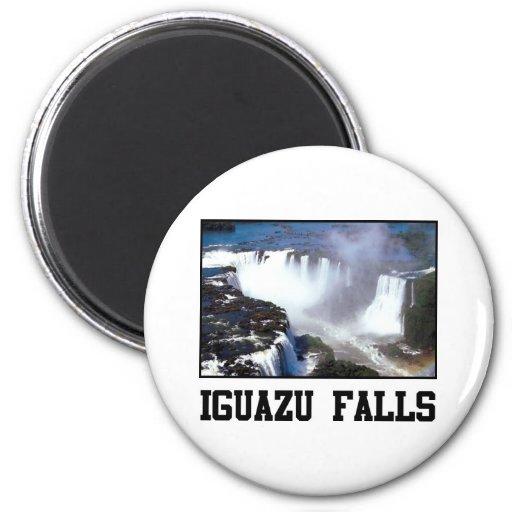Iguazu Falls 2 Inch Round Magnet