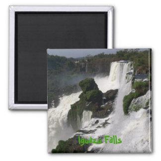 Iguazu Falls 2 Inch Square Magnet