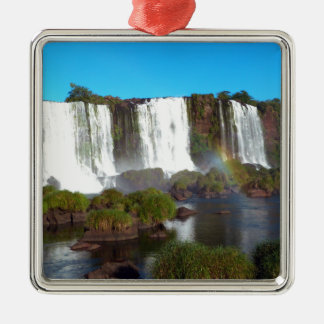 Iguazu Falls 2 Metal Ornament