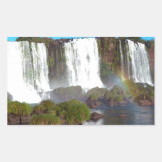 Iguazu Falls 2 Rectangular Sticker