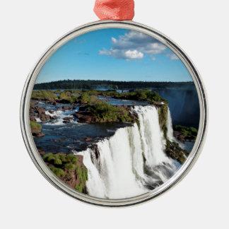 Iguazu Falls 3 Metal Ornament