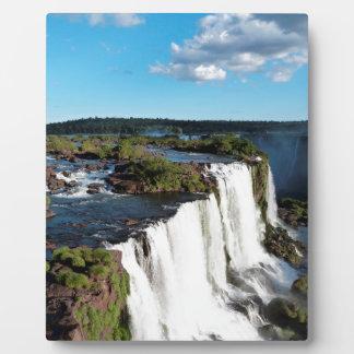 Iguazu Falls 3 Plaque