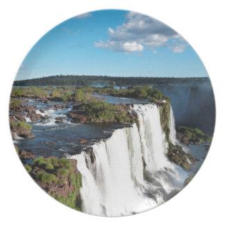 Iguazu Falls 3 Plate
