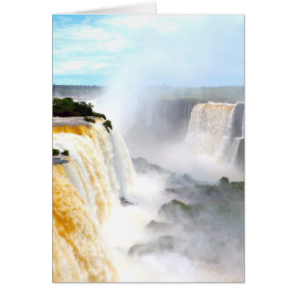 Iguazu Falls 4 Card