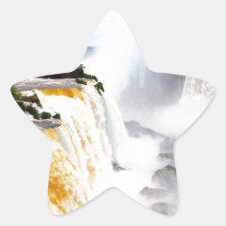 Iguazu Falls 4 Star Sticker