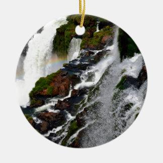 Iguazu Falls 5 Ceramic Ornament