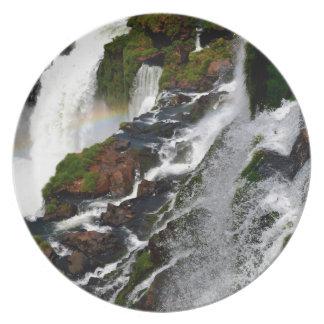 Iguazu Falls 5 Melamine Plate