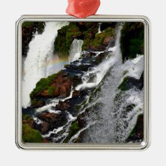 Iguazu Falls 5 Metal Ornament