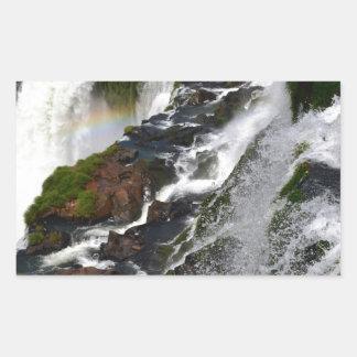 Iguazu Falls 5 Rectangular Sticker