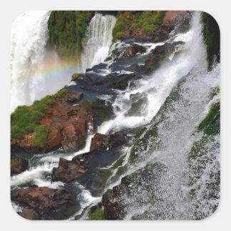 Iguazu Falls 5 Square Sticker