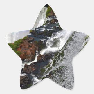 Iguazu Falls 5 Star Sticker