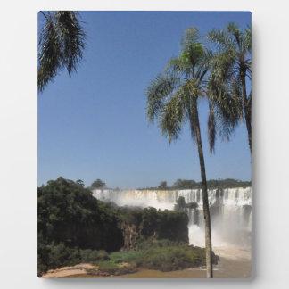 Iguazu Falls 6 Plaque