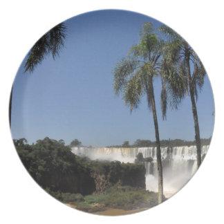 Iguazu Falls 6 Plate