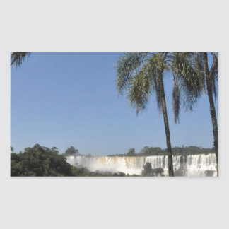 Iguazu Falls 6 Rectangular Sticker