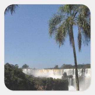 Iguazu Falls 6 Square Sticker