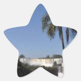 Iguazu Falls 6 Star Sticker