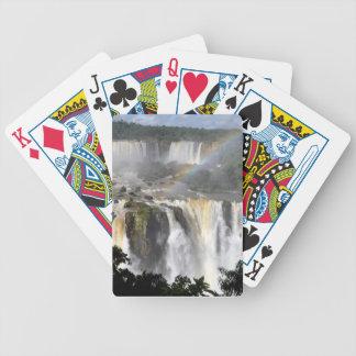 Iguazu Falls 7 Bicycle Playing Cards