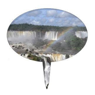 Iguazu Falls 7 Cake Topper