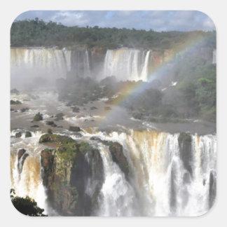 Iguazu Falls 7 Square Sticker