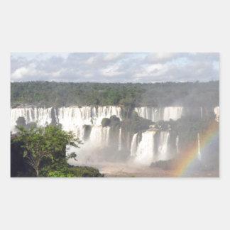 Iguazu Falls 8 Rectangular Sticker