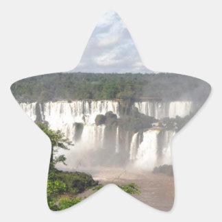 Iguazu Falls 8 Star Sticker